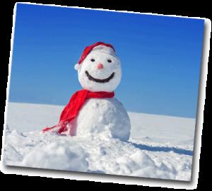 Bonhomme de neige à faire quand il neige