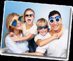 Photo de famille déguisée à faire quand on s'ennuie