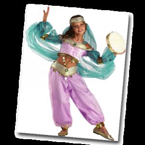 Déguisement de danseuse orientale pour fille