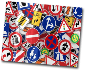 Panneaux de signalisations du code de la route