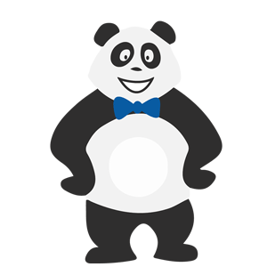 Panda garçon
