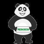 Panda qui s'ennuie le mercredi