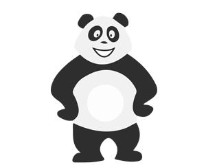 Panda tout seul