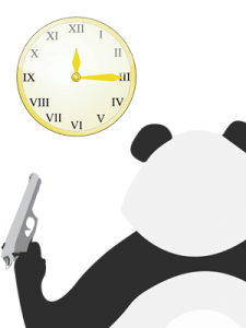 Panda qui tue le temps